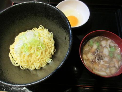 「【限定】グリど煮干しゃぶしゃぶつけ麺」@麺s慶の写真