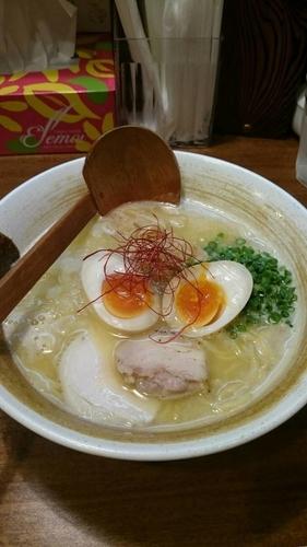 「超濃厚鶏白湯らーめん 味玉」@麺匠ようすけの写真