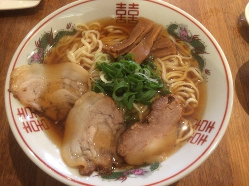 「煮干し中華そば」@心生麺商人の写真