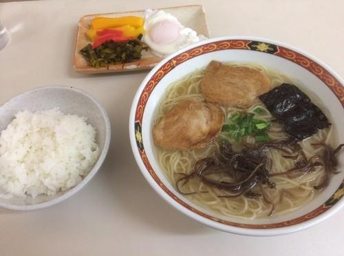 「ラーメン定食」@ラーメン天和の写真