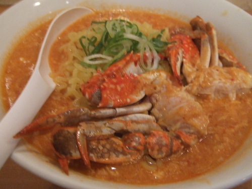 「【限定】渡り蟹のタンタンメン 1000円」@奴が愛したタンタンメン 近平家の写真
