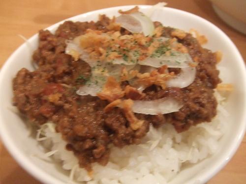 「ミニドライカレー (麺類とセットで+200円)」@奴が愛したタンタンメン 近平家の写真