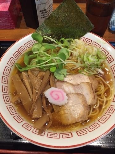 「中華そば」@汁麺屋 胡座の写真