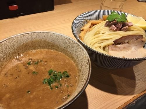 「ラムつけ 醤油 大盛」@自家製麺 MENSHO TOKYOの写真