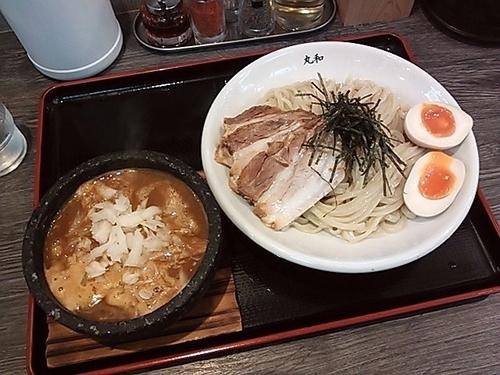 「丸和つけ麺全部のせ」@つけ麺丸和 名駅西店の写真