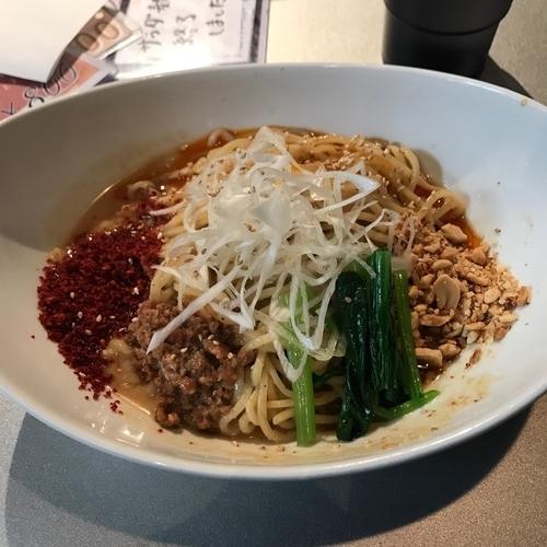 「汁なし坦々麺」@天雷軒 神谷町の写真