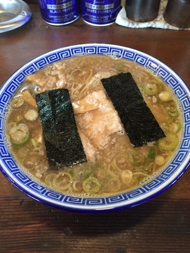 「三種の煮干そば  820円」@マル寛そばやの写真