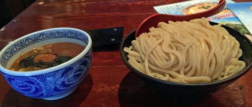 「つけ麺 大盛」@つけ麺専門店 三田製麺所 神田店の写真