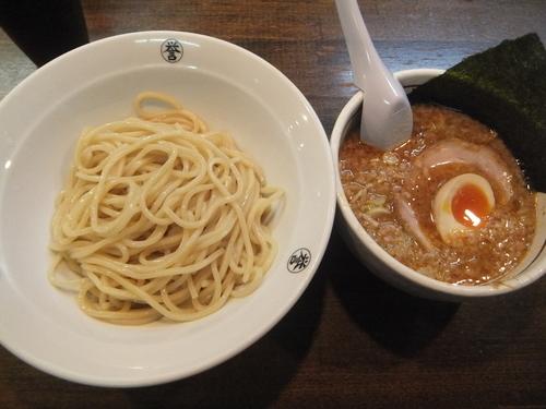 「つけ麺紺(味噌&鰹)850円(11周年記念500円)」@こってりらーめん 誉の写真