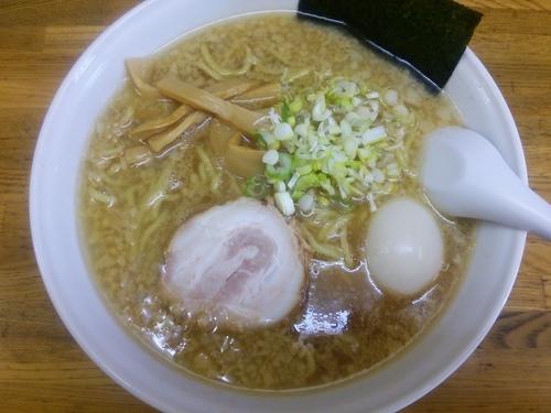 「味玉正油ラーメン+大盛」@麺屋てんきの写真