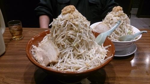 「味噌ふじ麺750円+理事長野菜増し480円」@東池袋大勝軒 うさぎ家の写真