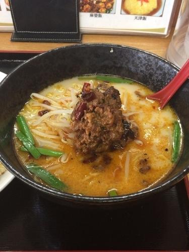 「豚骨台湾ラーメン」@台湾料理 味源の写真