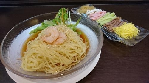 「涼拌麺(元祖冷し中華) 1350円」@中国料理 龍亭の写真