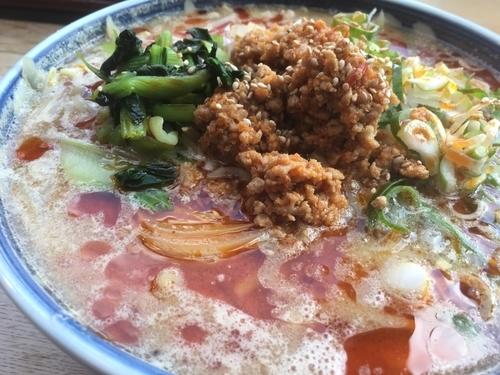 「担々麺」@味の時計台 筥松店の写真