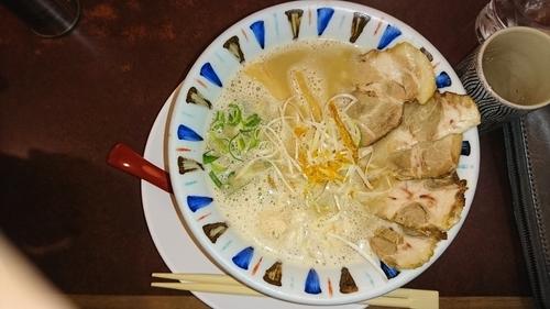 「鳥白湯チャーシュー麺」@ら~めん 元喜神 奈良店の写真