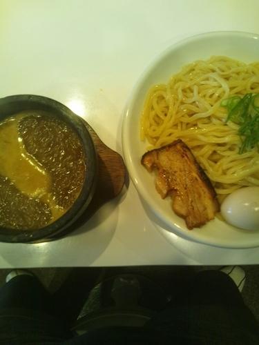 「つけ麺味玉入り」@ぶっと麺 しゃにむにの写真
