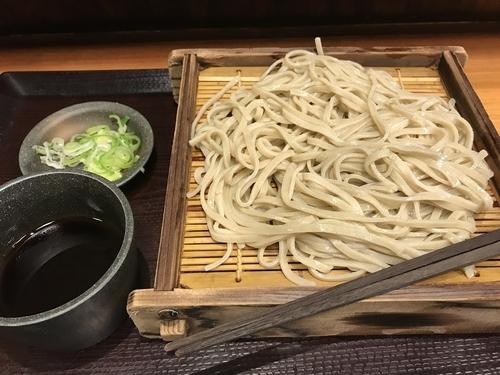 「もりそば【290円】」@蕎麦冷麦  嵯峨谷 渋谷店の写真