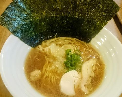 「珀黒」@濃厚鶏麺 ゆきかげ 浅草本店の写真