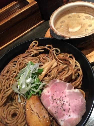 「白のつけ麺」@麺者 すぐれの写真