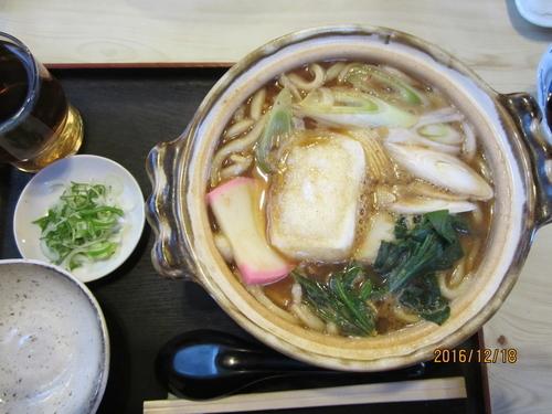 「味噌煮込みうどん 850円」@小松屋そば店の写真