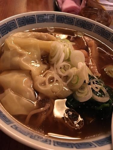 「わんたん麺 800円」@ラーメンかずやの写真