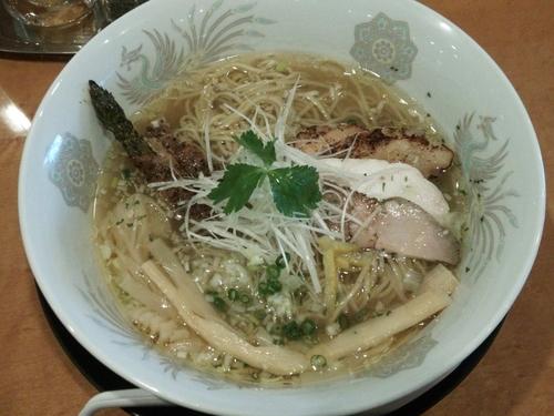 「塩そば」@和風鶏そば kouseiの写真