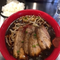 麺創研 紅 BLACKの写真