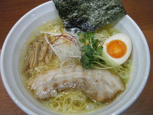「塩ラーメン730円」@麺厨房 武蔵の写真