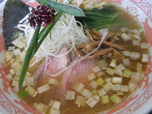 「塩中華そば850円」@中華蕎麦 こばやの写真