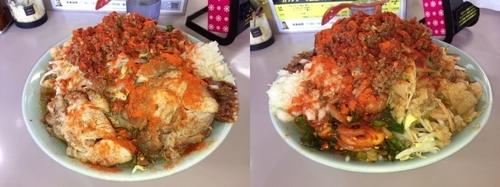 「青木ママセット(ヒーヒー麺)中+豚マシ。」@立川マシマシ 足利総本店の写真