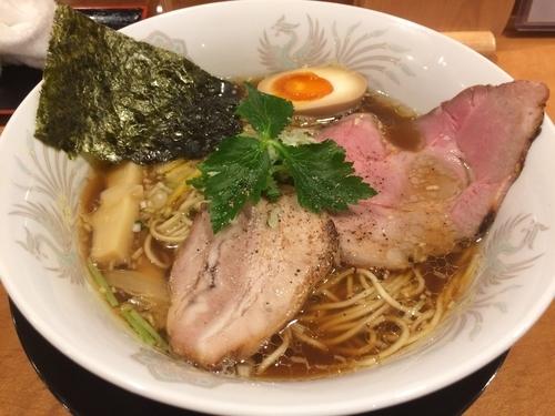 「特製醤油そば」@和風鶏そば kouseiの写真