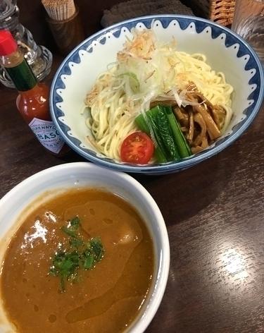 「エビつけ麺 (冷&並盛) ¥850」@GANCON NOODLEの写真