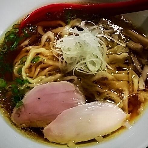 「手打ち中華そば 700円」@立ち呑み居酒屋 金町製麺の写真