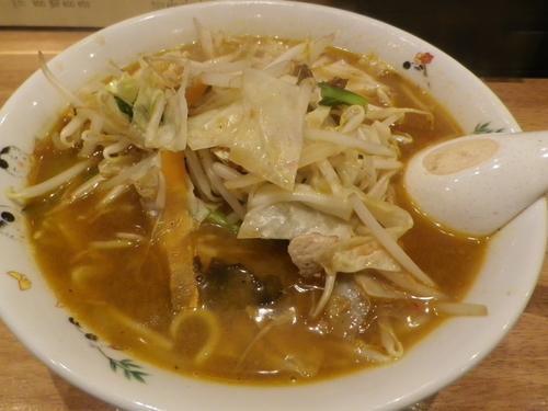 「味噌野菜ラーメン」@おっちゃんラーメン居酒屋の写真