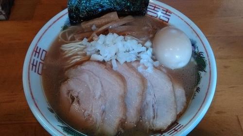 「烏賊蕎麦+追い玉」@柴原の写真