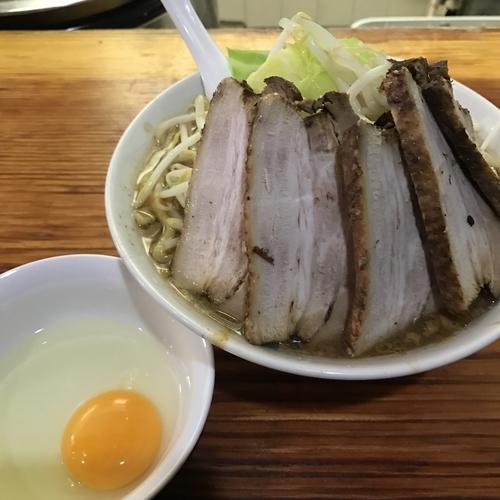 「ラーメン 煮豚増し たまご 750+360+60円 ?」@ら・けいこの写真