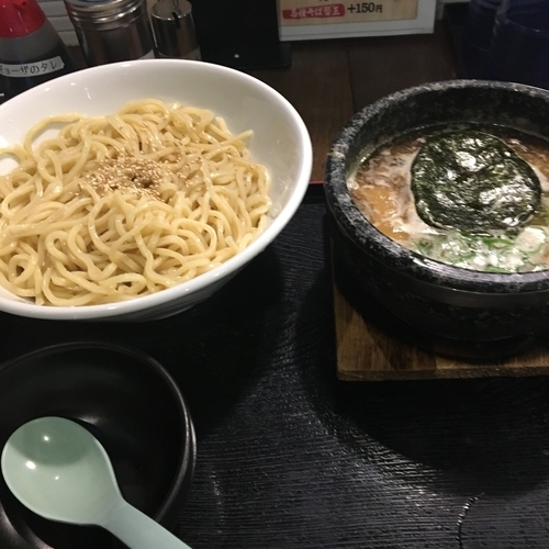 「特製つけ麺 大盛り」@麺屋 地養の写真