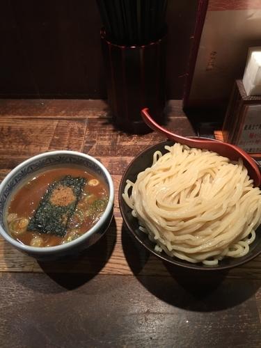 「つけ麺大¥730」@つけ麺専門店 三田製麺所 なんば店の写真