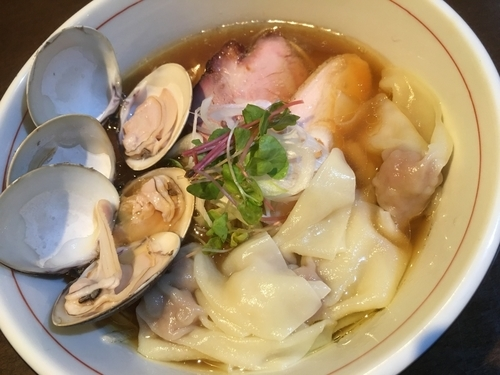 「【限定】 幻のシャポーン鹿児島鶏のトリプルそば」@麺や 虎徹の写真