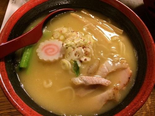 「特濃鶏白湯」@拉麺酒房 熊人の写真