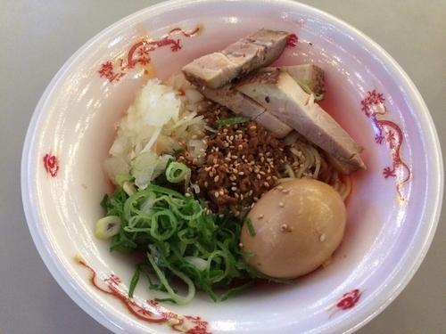 「海老香る 特製汁無し坦々麺」@神保町 可以の写真