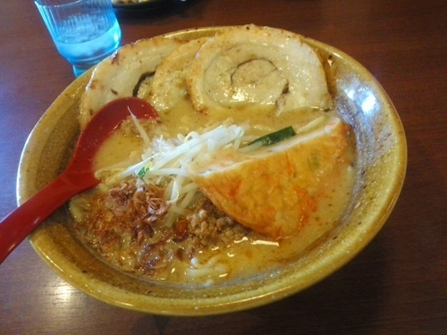 「九州麦味噌味噌漬け炙りチャーシュー麺¥1,112」@麺場 田所商店 辻堂店の写真