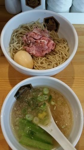 「真鯛つけ麺」@真鯛らーめん 麺魚の写真