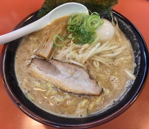 「合わせ味噌玉子ラーメン(¥810)」@札幌めんたつの写真