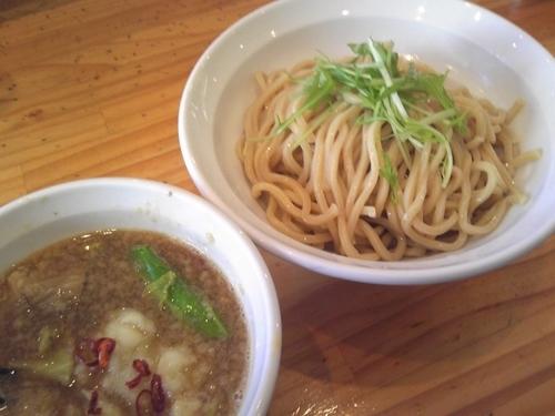 「【期間限定】牛モツつけ麺(並)¥980」@つけ麺二代目いさおの写真