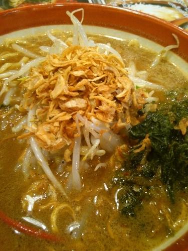「伊勢味噌ラー」@蔵出し味噌 麺場壱歩 入間店の写真