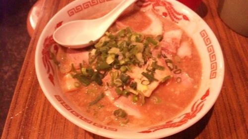 「魚介豚骨+チャーシュー」@赤鬼笑店の写真
