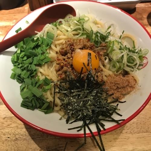 「まぜそば」@つけ麺専門店 三田製麺所 有楽町店の写真