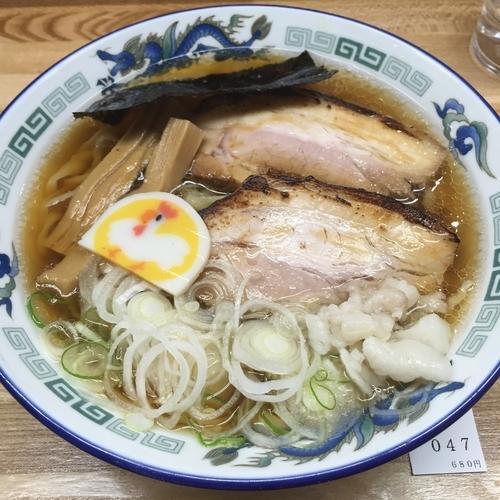 「マナサンラーメン小盛(¥680)」@支那そば たまや錦の写真