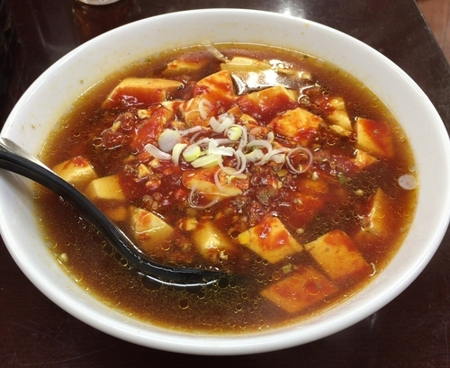 「麻婆豆腐ラーメン 赤 ¥702」@第2らーめん亭よ志乃の写真